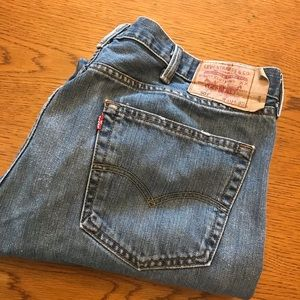 Levis 501 red tag button fly classic jean